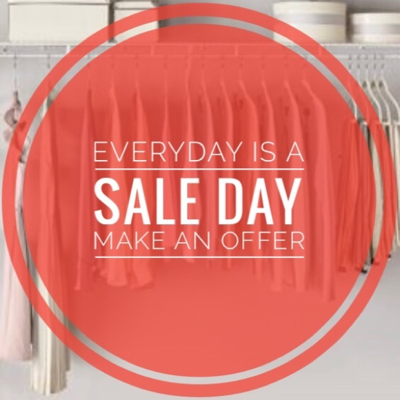 Other - Everyday Is A SALE Day! Make An Offer!